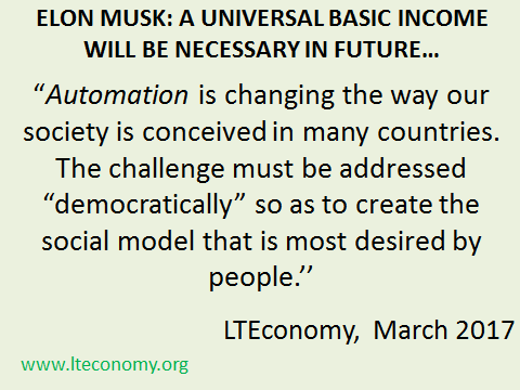 Elon Musk Elon Musk Automation Effects On Jobs Elon Musk Automation And Universal Basic Income Elon Musk Universal Basic Income Elon Musk Automation Will Drive A Job Less World Will Universal Basic Income